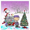 """MERRY CHRISTMAS, CHARLIE BROWN"" Artist Mike DuBois Variant edition of 175 $60"