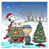 """MERRY CHRISTMAS, CHARLIE BROWN"" Artist: Mike DuBois Standard edition of 195 $45"