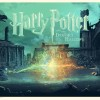 """HARRY POTTER AND THE DEATHLY HALLOWS"" Artists: Stan & Vince Foil Edition of 15 (based on Standard color way) $150"