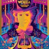 """WILLY WONKA & THE CHOCOLATE FACTORY"" ARTIST: TOM WHALEN GOLDEN TICKET VARIANT EDITION OF 10 $125"